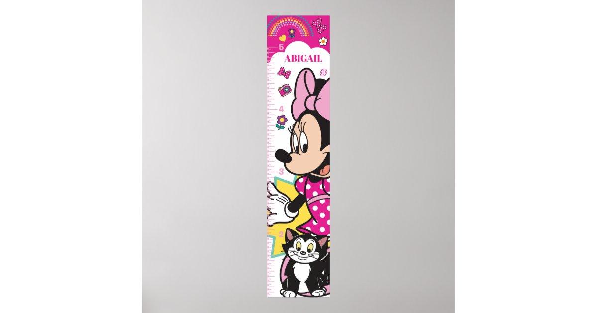 Minnie Mouse | Growth Chart | Zazzle.com