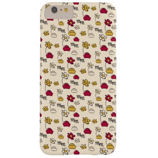 Minnie Mouse Hats Pattern Barely There iPhone 6 Plus Case