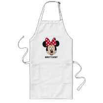 Minnie Mouse | Head Logo Long Apron