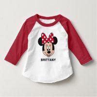 Minnie Mouse   Head Logo T-Shirt
