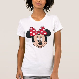 Minnie Mouse | Head Logo T-Shirt