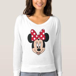 Minnie Mouse | Head Logo T-shirt
