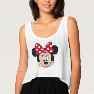Minnie Mouse | Head Logo Tank Top