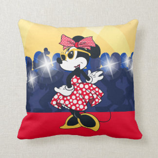 Minnie Mouse | Hollywood's Leading Lady Throw Pillow
