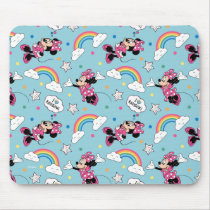 Minnie Mouse | I Love Rainbows Pattern Mouse Pad