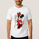 Minnie Mouse in Devil Costume Shirt