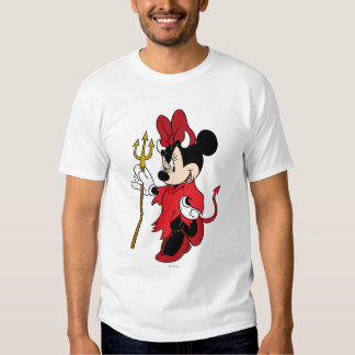 Minnie Mouse in Devil Costume T-Shirt