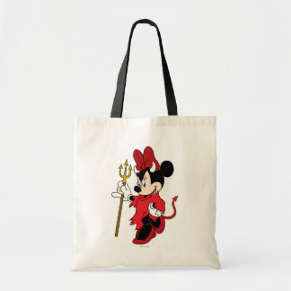 Minnie Mouse in Devil Costume Tote Bag