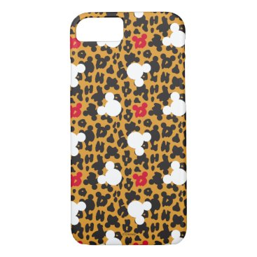 Disney Themed Minnie Mouse | Leopard Pattern iPhone 7 Case