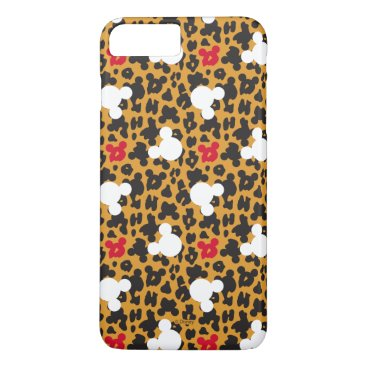 Disney Themed Minnie Mouse | Leopard Pattern iPhone 7 Plus Case