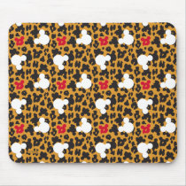 Minnie Mouse | Leopard Pattern Mouse Pad