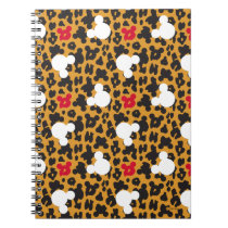 Minnie Mouse | Leopard Pattern Notebook