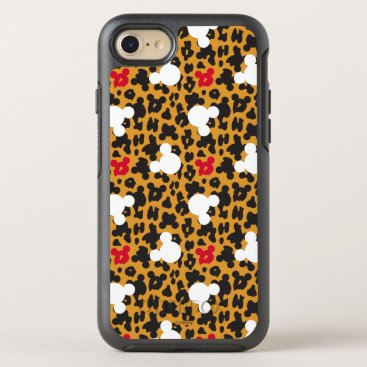 Disney Themed Minnie Mouse | Leopard Pattern OtterBox Symmetry iPhone 7 Case