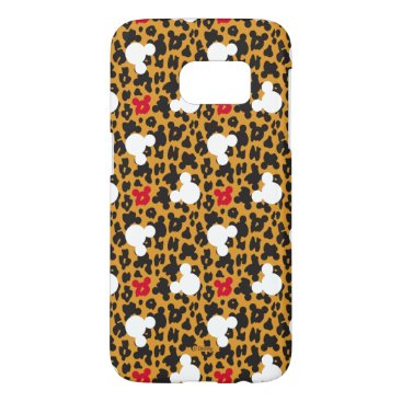Disney Themed Minnie Mouse | Leopard Pattern Samsung Galaxy S7 Case