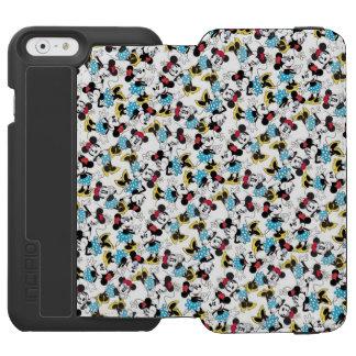 Minnie Mouse linda clásica Funda Cartera Para iPhone 6 Watson
