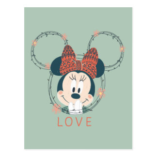 Minnie Mouse | Love Postcard