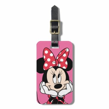 MickeyAndFriends Minnie Mouse Luggage Tag