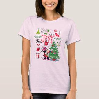 Minnie Mouse   Minnie's Christmas Joy T-Shirt