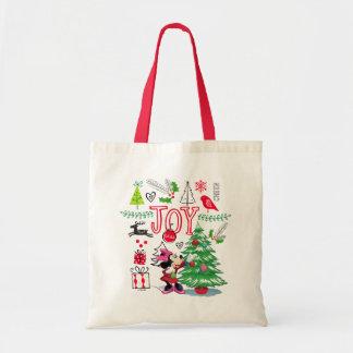 Minnie Mouse | Minnie's Christmas Joy Tote Bag