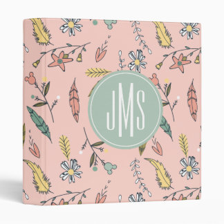 Minnie Mouse | Monogram Adventures Await Pattern Binder