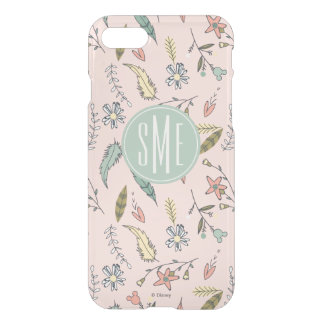 Minnie Mouse | Monogram Adventures Await Pattern iPhone 8/7 Case