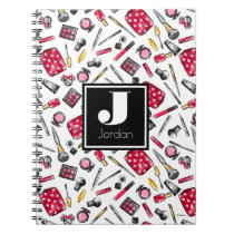 Minnie Mouse | Monogram #what'sinmypurse Pattern Notebook