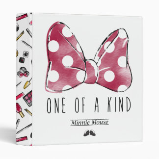 Minnie Mouse | One Of A Kind 3 Ring Binder