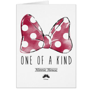 Minnie Mouse | One Of A Kind Card