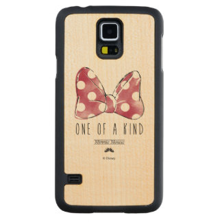 Minnie Mouse | One Of A Kind Carved Maple Galaxy S5 Case