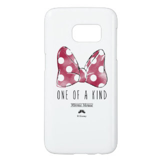 Minnie Mouse   One Of A Kind Samsung Galaxy S7 Case