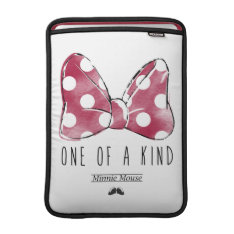 Minnie Mouse   One Of A Kind Sleeve For Macbook Air at Zazzle