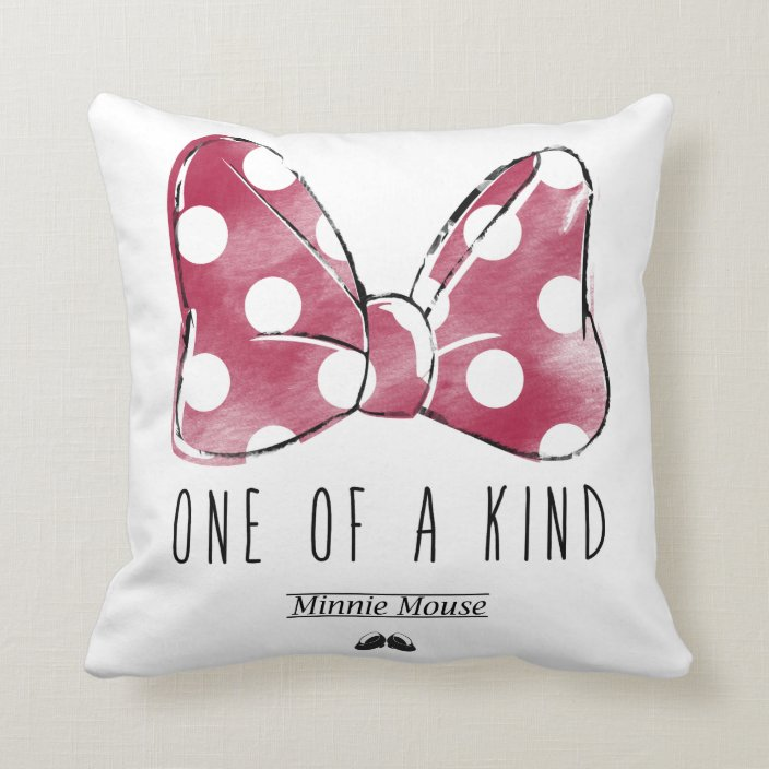 Minnie Mouse One Of A Kind Throw