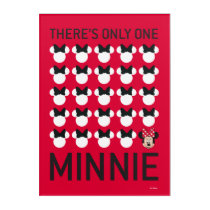 Minnie Mouse | Only One Minnie Acrylic Print