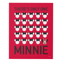 Minnie Mouse | Only One Minnie Panel Wall Art