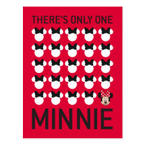Minnie Mouse | Only One Minnie Postcard