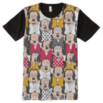 Minnie Mouse | Pattern All-Over-Print T-Shirt