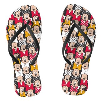 Minnie Mouse | Pattern Flip Flops