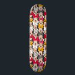 "Minnie Mouse | Pattern Skateboard<br><div class=""desc"">Officially licensed Minnie Mouse artwork. A fun design that showcases a Minnie Mouse - Pattern.</div>"