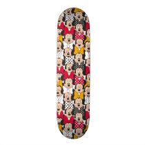 Minnie Mouse | Pattern Skateboard