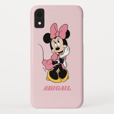 Minnie Mouse | Posing in Pink iPhone XR Case