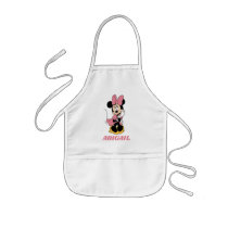 Minnie Mouse | Posing in Pink Kids' Apron