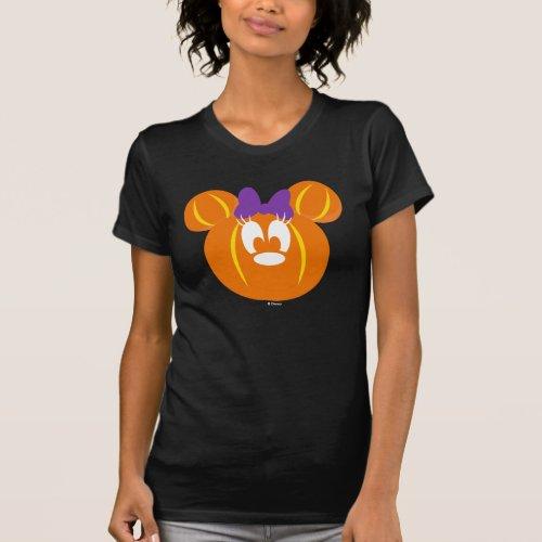 Minnie Mouse Pumpkin T_Shirt