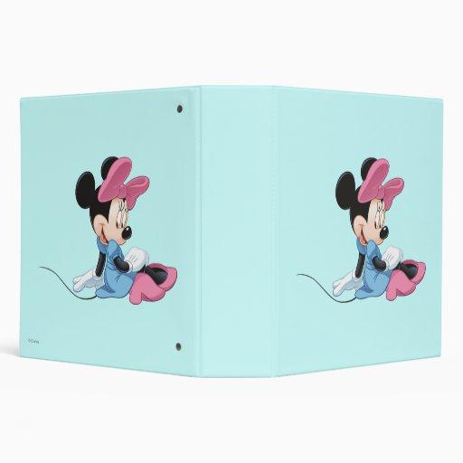 """Minnie Mouse que sienta el vestido azul Carpeta 2"""""""