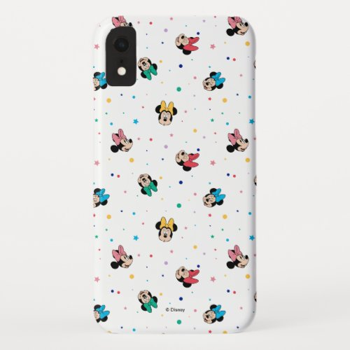 Minnie Mouse Rainbow Bow Pattern Phone Case