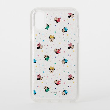 Minnie Mouse Rainbow Bow Pattern Speck iPhone XS Case