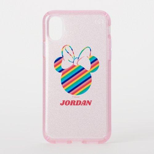 Minnie Mouse Rainbow Icon Phone Case