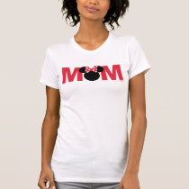 Minnie Mouse | Red and White - Mom T-Shirt
