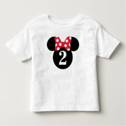 Toddler Fine Jersey T-Shirt with Birthday Invitations design