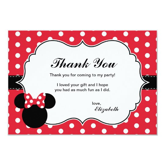 Minnie Mouse Invitations Announcements Zazzle