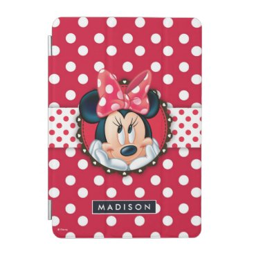 Disney Themed Minnie Mouse | Smiling on Polka Dots iPad Mini Cover